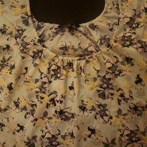 Banana Republic Tops - Banana Republic Ladies Aqua Floral blouse